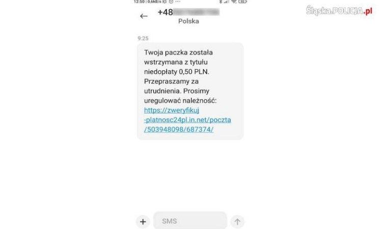 СМС мошенники в Польше