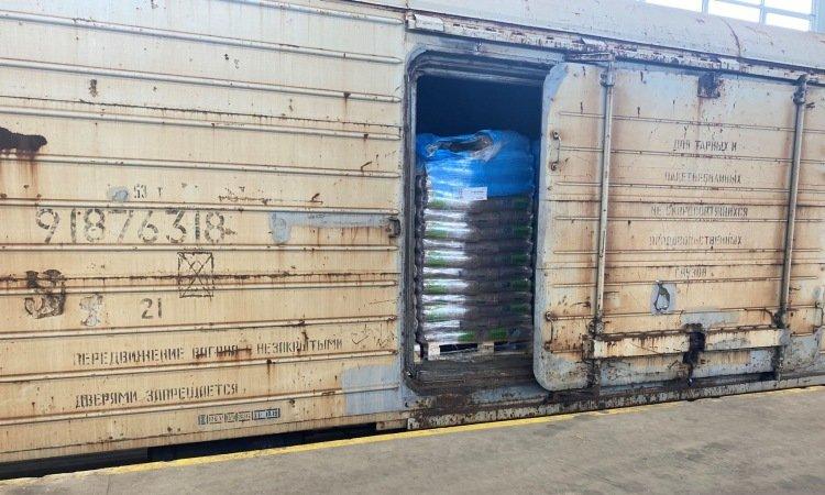 Контрабанда в грузовом вагоне