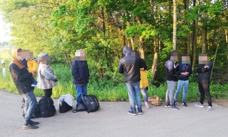Мигранты задержаны на границе Литвы и Беларуси