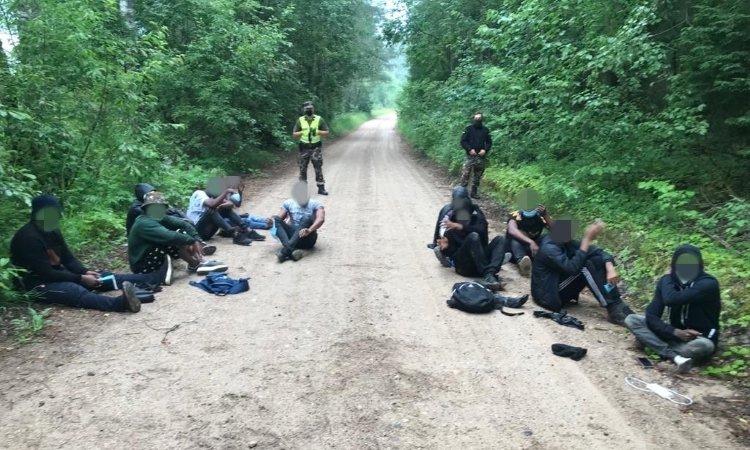 Мигранты из Беларуси задержан в Литве днём