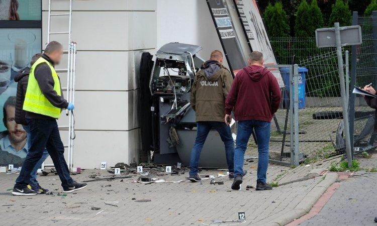 В Белостоке взорвали банкомат