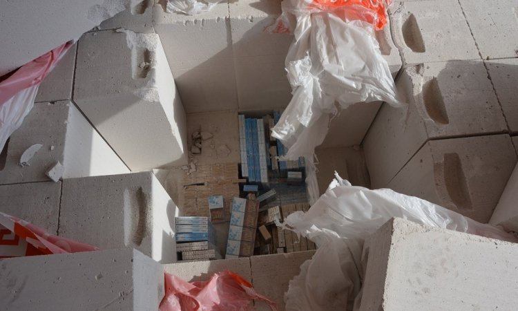 В грузе с бетонными блоками контрабанда из Беларуси