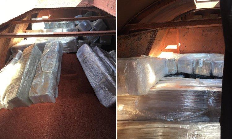 Контрабанда сигарет в грузовом поезде из Беларуси