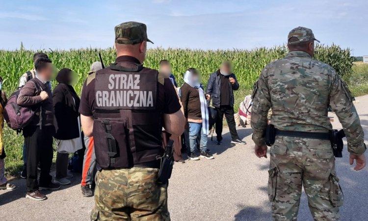 Мигранты переключились на Польшу