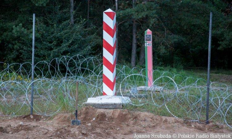 Граница Польша Беларусь